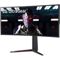 LG UltraGear 34GN850-B 34inch UW-QHD Curved Screen Gaming LCD Monitor - 21:9 - Black, Red