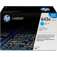 HP 643A Toner Cartridge - Cyan - Laser - Standard Yield - 10000 Page - 1 Each
