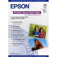Epson Premium C13S041315 Photo Paper - A3 - 297 mm x 420 mm - Glossy - 20 x Sheet