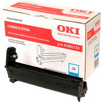 Oki 43381723 LED Imaging Drum - Cyan