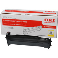 Oki 43460205 LED Imaging Drum - Yellow