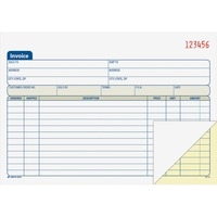 Adams Carbonless Invoice Book ABFDC5840
