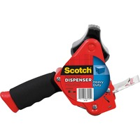 Scotch? Heavy Duty Packaging Tape Dispenser- Foam Handle with Retracta photo