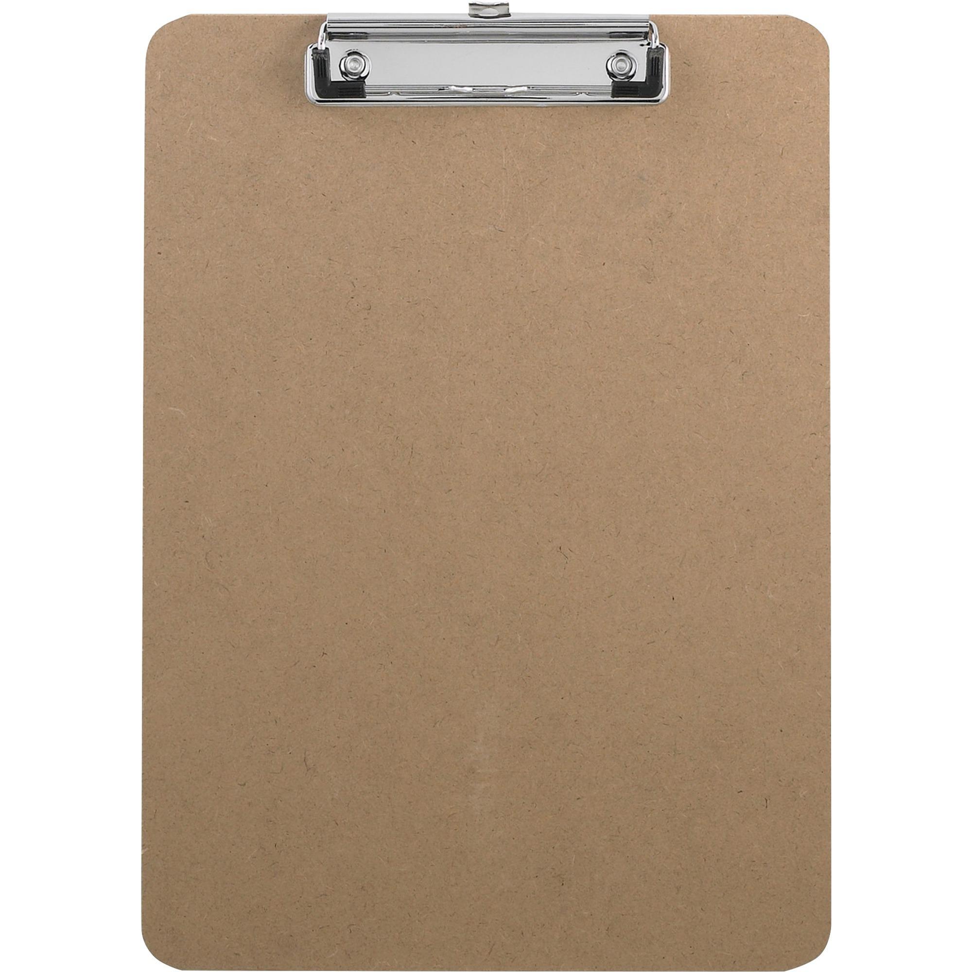 Business Source Hardboard Clipboard 9 Quot X 12 1 2