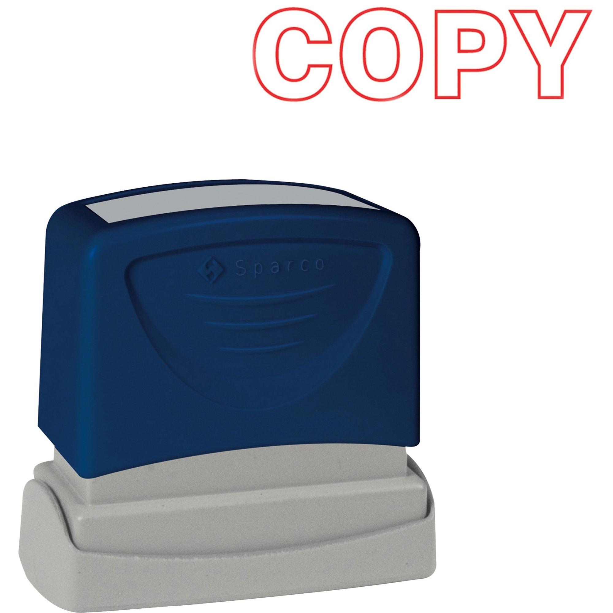 """/""""copy/"""" Xstamper Pre-inked Stamp 0.50/"""" Impression Width X Message Stamp"""