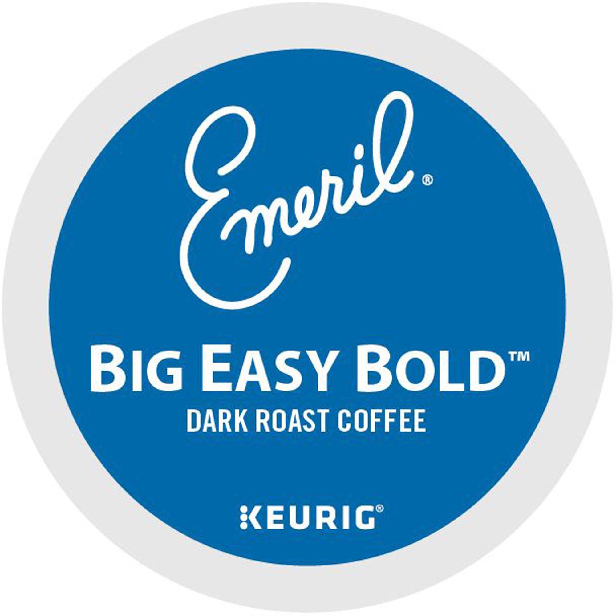 Emeril's Big Easy Coffee - Regular - Dark/Bold - K-Cup - 24