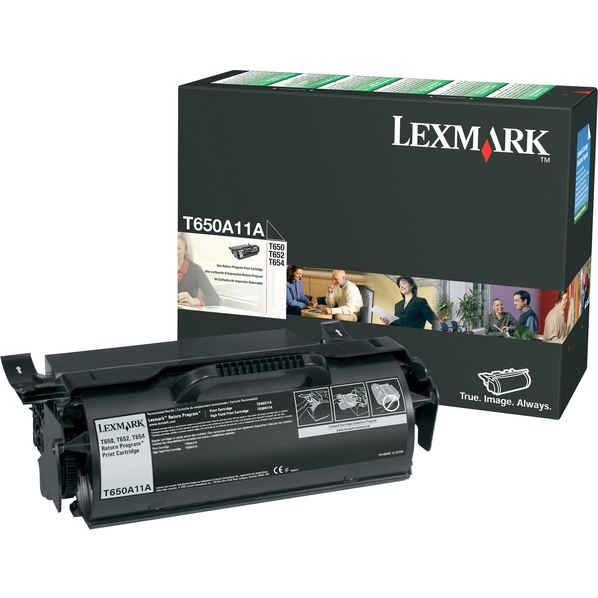 Lexmark Original Toner Cartridge - Laser - 25000 Pages - Black - 1