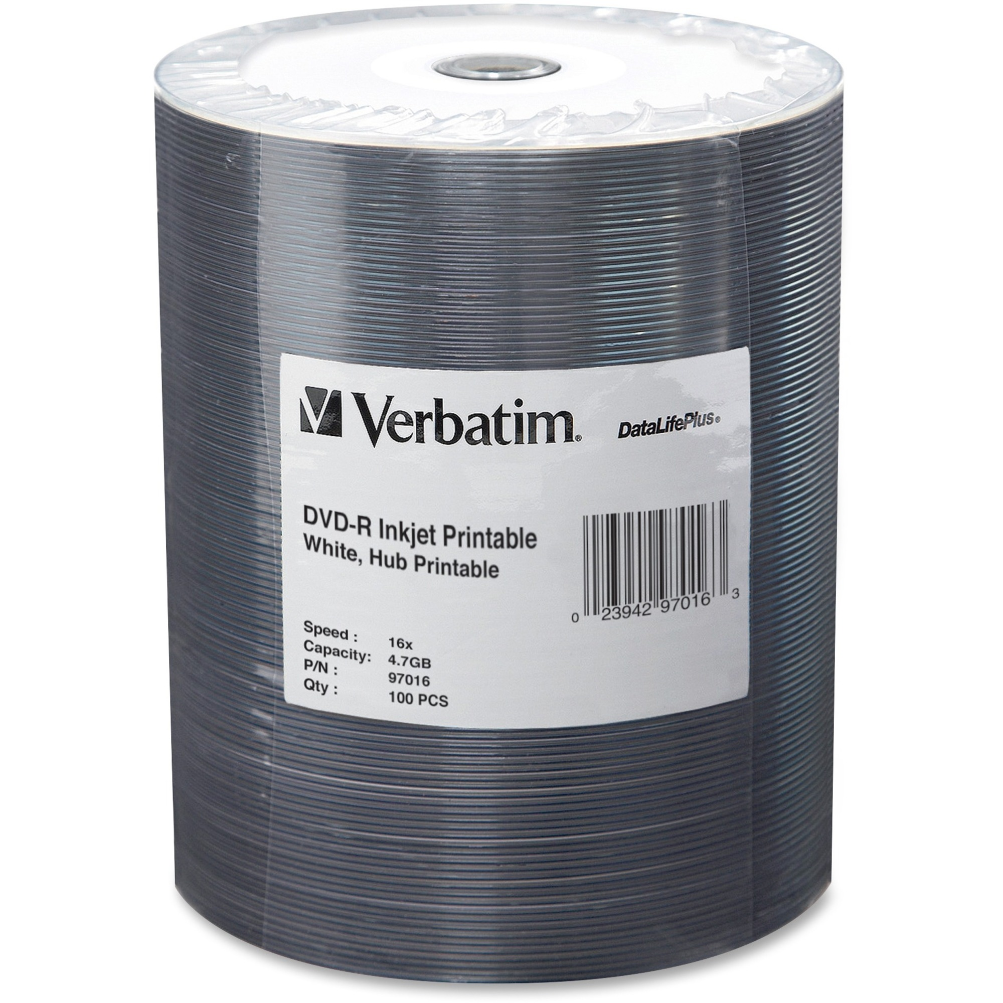 Verbatim dvd rw 4 7gb 4x with branded surface 30pk spindle 4 7gb - Zoom In