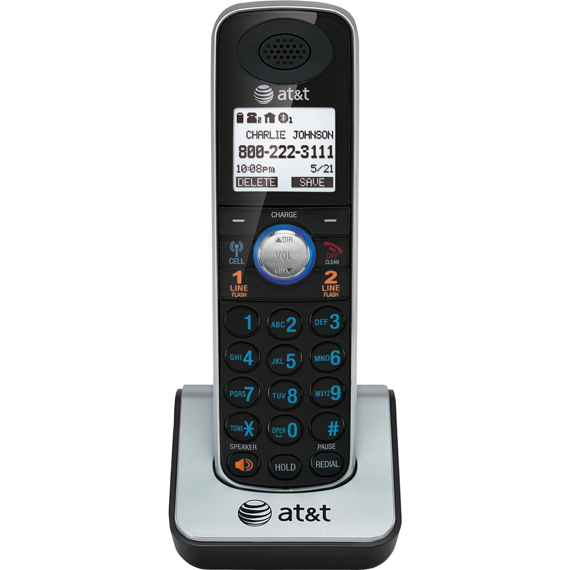 AT/&T TL86109 2-LINE DECT 6.0 PHONE SYSTEM BRAND NEW BLUETOOTH 2 CORDLESS
