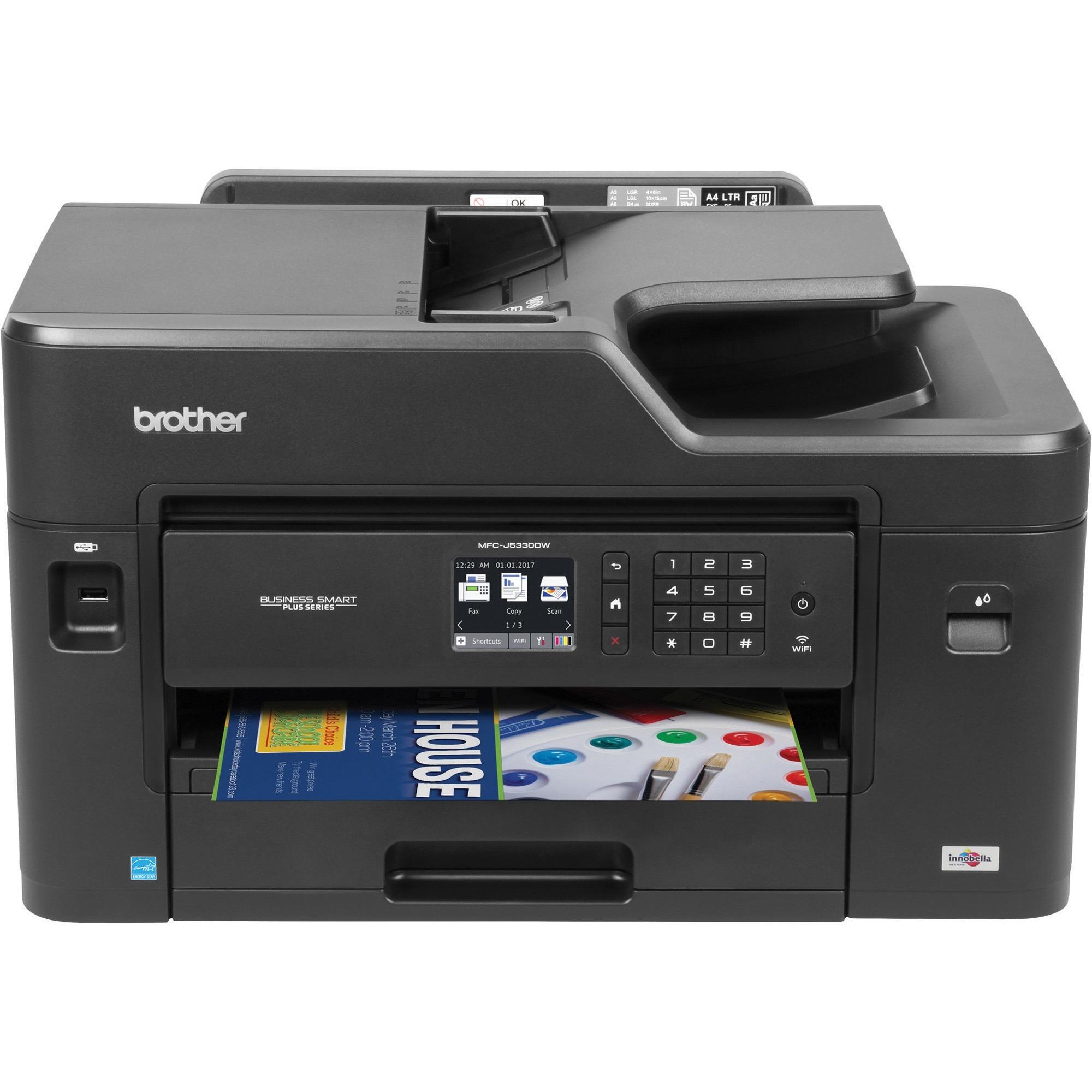 Brother Work Smart Mfc J460dw Inkjet Multifunction Printer Color