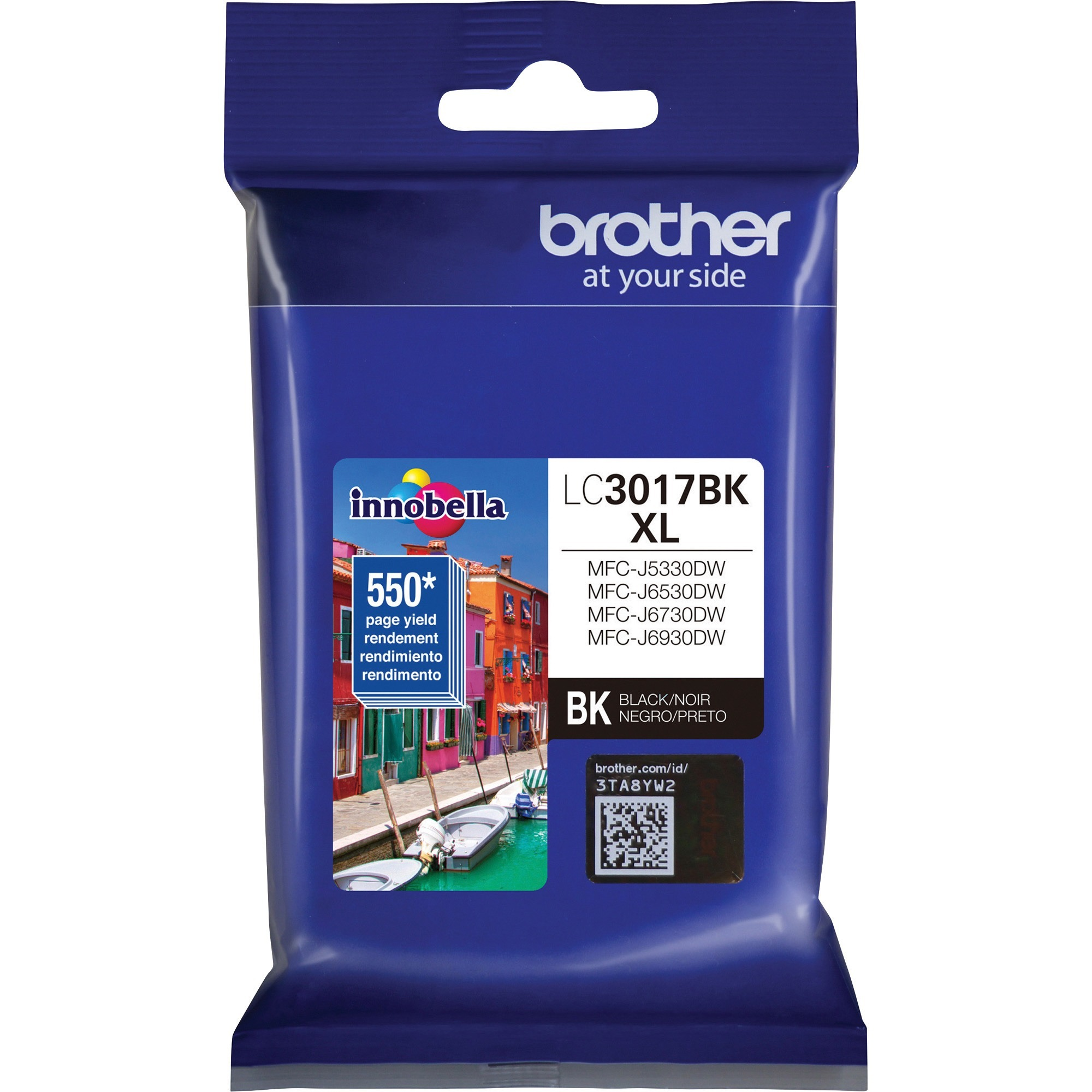 Black, 4 Pack MS Imaging Supply Compatible Inkjet Cartridge Replacement for Brother LC3019BK