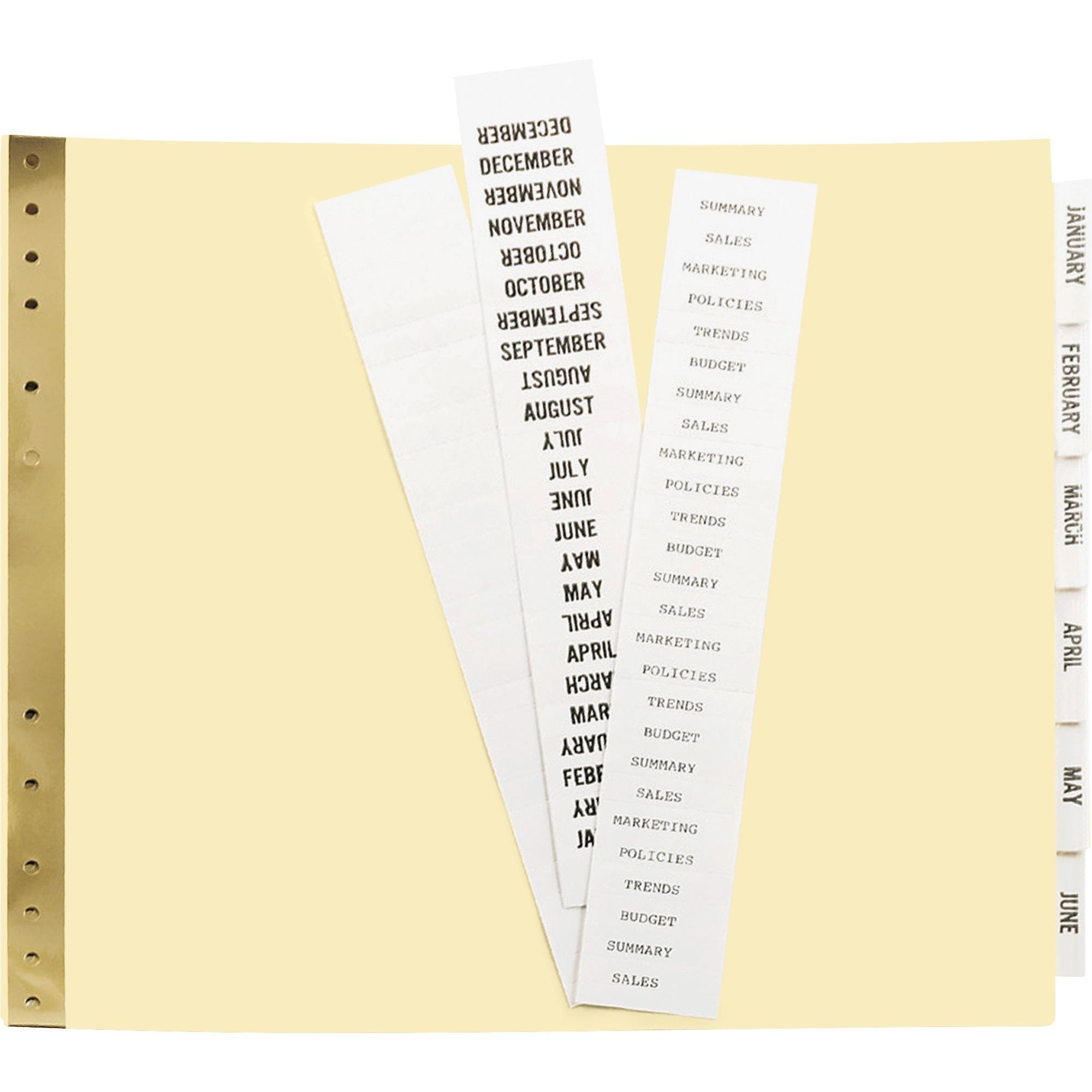 ACCO® PRESSTEX® Covers w/ Hooks, Unburst, 9 1/2