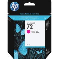 HP 72 Magenta Ink Cartridge - Inkjet - 1 Each