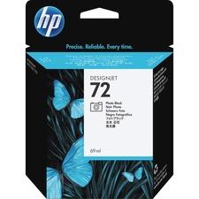 HP 72 Photo Black Ink Cartridge - Inkjet - 1 Each