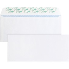 Business Source Business Envelopes,No. 10,Peel/Seal,9-3/4