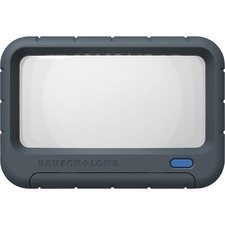 BAUSCH & LOMB INC - Rectangular Handheld Magnifier, 2X LED, 2