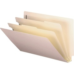 "Smead End Tab Pressboard Classification Folder - Legal - 8.5"" x 14"" - 2 Divider - 2"" Expansion - 2 F"