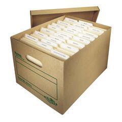Perma Heavy Duty Quickfold Storage Box   Letter, Legal   Kraft