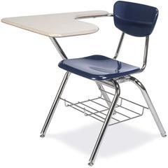 Virco Martest 3000 Series 3700br Student Desk 1 Rack 14 5 X 20