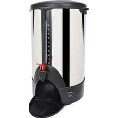 Coffee Pro 50-Cup Coffee Urn - 50 Cup - Stainless Steel