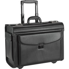 "Lorell Carrying Case for 16"" Notebook - Black - Vinyl"