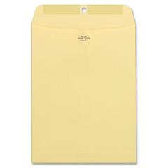 "Quality Park Clasp Envelope - 9"" x 12"" - 28.00 lb - Clasp - 100/Box - Manila"