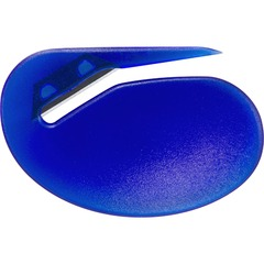 OIC Deluxe Compact Letter Opener - Manual - Blue