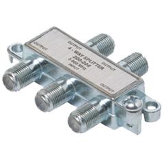 Steren 4-Way Mini Splitter - 4-way - 900MHz - Signal Splitter