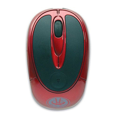Gear Head MP2200RED Wireless Optical Mouse - Optical - USB - 3 x Button - Red, Black