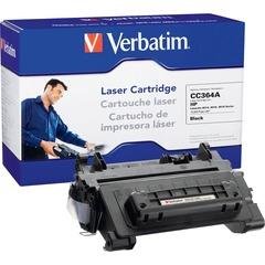 Verbatim HP CC364A Compatible Toner Cartridge - Black - Laser - 10000 Page - 1 / Pack