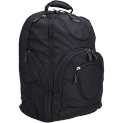 """Toshiba PA1493U-1BS6 Carrying Case for 16"""" Notebook - Black - Backpack - Ballistic Polyester, Ripstop Polyester"""