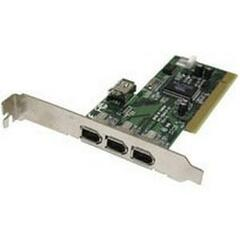 Cables To Go Port Authority 3-Port FireWire PCI Card - 3 x 6-pin IEEE 1394a FireWire 400 External - Plug-in Card