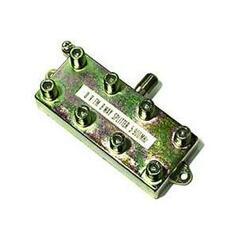 Steren 8-Way MATV F-Splitter - 8-way - 900MHz - Satellite Splitter