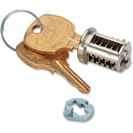 HON Chrome Removable Lock Core Kit (Price Per Each Piece) F23C