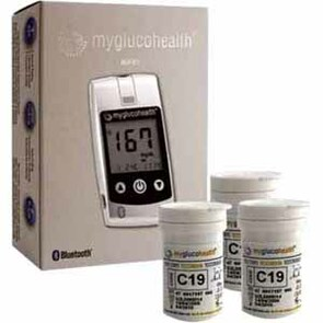 Entra Health Systems MyGlucoHealth Meter Starter Kit