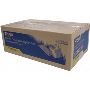 Epson AcuBrite C13S051128 Toner Cartridge - Yellow
