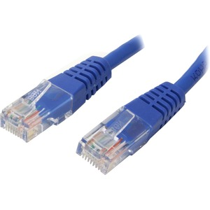 StarTech.com 75 ft Blue Molded Cat5e UTP Patch Cable - Category 5e - 75 ft - 1 x RJ-45 Male - Blue