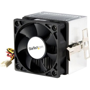 StarTech.com 60x65mm Socket A CPU Cooler Fan with Heatsink for AMD Duron or Athlon - 60 mm - 4000 rpm Ball Bearing