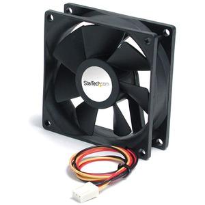 StarTech.com 90x25mm High Air Flow Dual Ball Bearing Computer Case Fan w/ TX3 - 92 mm - 2600 rpm Dual Ball Bearing