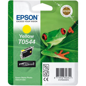 Epson UltraChrome T0544 Ink Cartridge - Yellow
