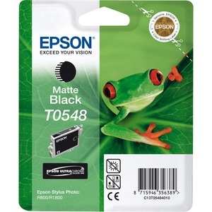 Epson UltraChrome T0548 Ink Cartridge - Matte Black