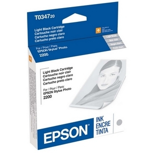 Epson UltraChrome T0347 Ink Cartridge - Light Black