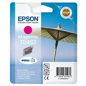 Epson DURABrite T0453 Ink Cartridge - Magenta