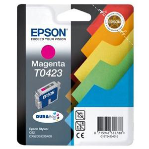 Epson DURABrite T0423 Ink Cartridge - Magenta