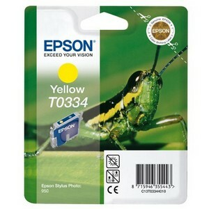 Epson T0334 Ink Cartridge - Yellow