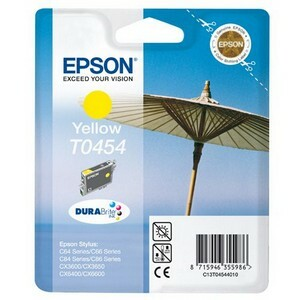 Epson DURABrite T0454 Ink Cartridge - Yellow