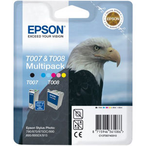 Epson T007/T008 Ink Cartridge - Black