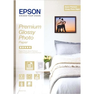 Epson Premium C13S042155 Photo Paper - A4 - 210 mm x 297 mm - Glossy - 15 x Sheet