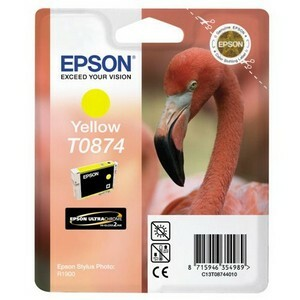 Epson T087 Ink Cartridge - Yellow