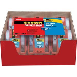"Scotch® Heavy Duty Shipping Packaging Tape 1.88"" x 66.6'"